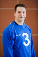 Portrait de Bruno Haché, joueur de l'équipe masculine de goalball du Québec.