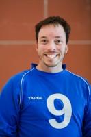 Portrait de Simon Tremblay, joueur de l'équipe masculine de goalball du Québec.