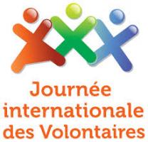 Logo Journée Internationale des bénévoles.