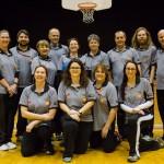 Photo d'équipe de tous les arbitres présents