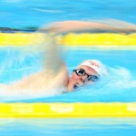 Toronto, Ontario, August 12, 2015. Nicolas Turbide competes in the swimming during the 2015 Parapan Am Games . Photo Scott Grant/Canadian Paralympic Committee
