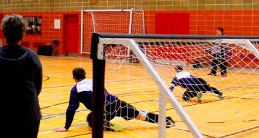 Plan général d'une partie de goalball