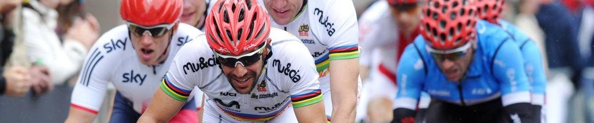 Course vélo tandem masculine lors de la Coupe du Monde Paracyclisme Route UCI. Crédit photo : Union Cycliste Internationale - UCI Belgique 2016.