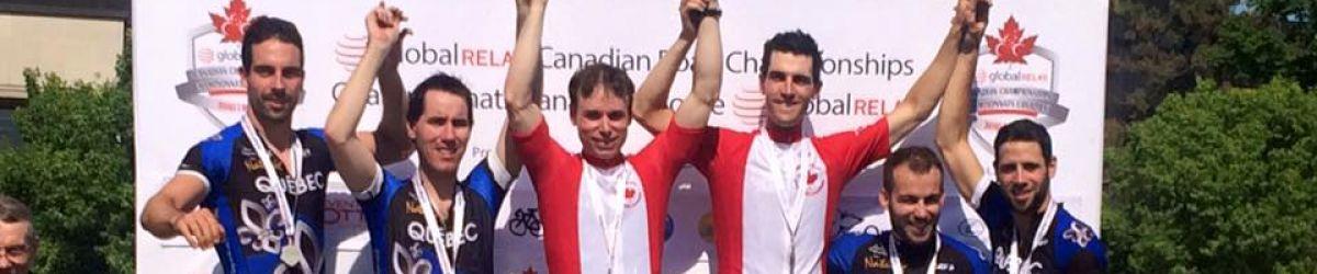 Daniel Chalifour et Jean-Michel Lachance médaillés d'or, Matthieu Croteau-Daigle et Benoît Lussier ont remporté l'argent et Alexandre Carrier et Jonathan Rochefort ont remporté le bronze.