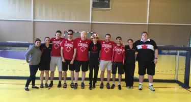 Équipe canadienne de goalball au Tournoi International de Goalball en Lituanie