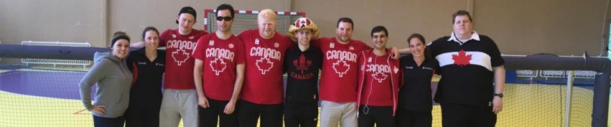 Équipe canadienne de goalball au Tournoi International de Goalball en Lituanie