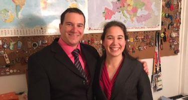 Bruno Haché et Nathalie Séguin ont été reçus par le Premier ministre du Québec à l'Assemblée Nationale. Photo