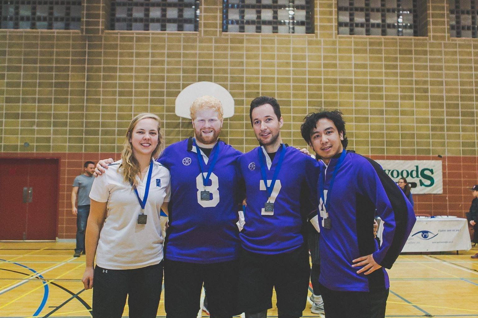 Photo- L'équipe masculine British Columbia a remporté le l'argent au TIGM 2017.