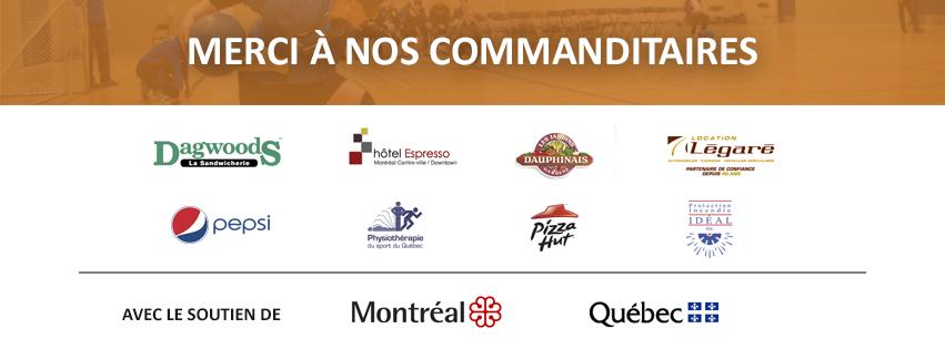 Image. Merci à nos commanditaires et logos. L'édition 2017 du TIGM a été rendue possible grâce à l'appui financier du ministère de l'Éducation, de l'Enseignement supérieur et de la Recherche, de la Ville de Montréal ainsi qu'aux commanditaires suivants : Pepsi, Pizza Hut de LaSalle, les Jardins Dauphinais, Dagwoods, Location Légaré, Physiothérapie du Sport du Québec (PSQ), Hôtel Espresso Montréal Centre-Ville/Downtown et Protection Incendie Idéal inc.