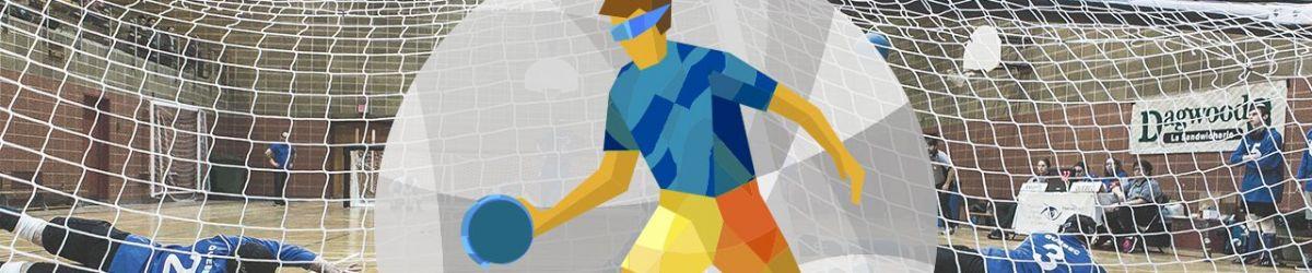 Bandeau infographie de Goalball.