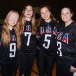 Photo de groupe Équipe Team USA.