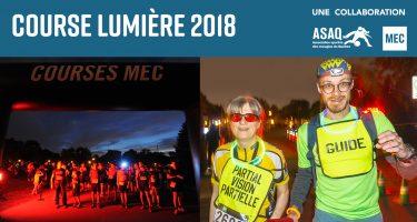 Banner Course Lumière 2018.