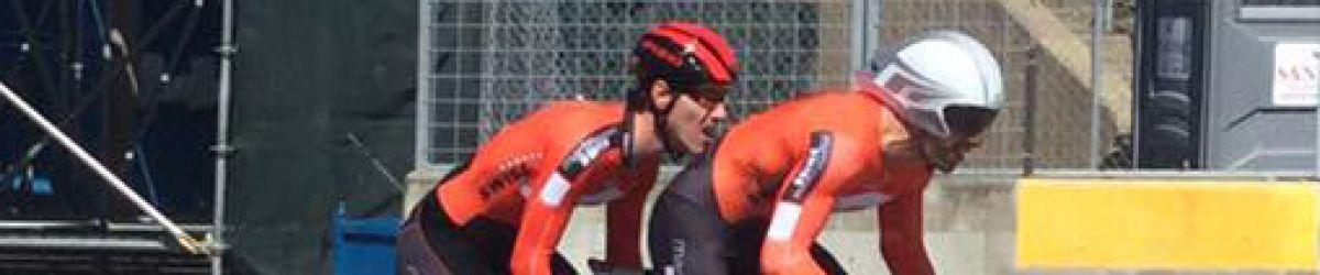 Mathieu Daigle Croteau et son pilote Benoît Lussier.