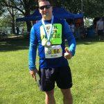 Bruno Haché avec sa médaille !