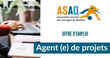 ASAQ offre d'emploi : Agent(e) de projets