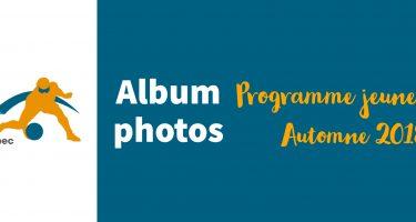 Image - Album photos programme jeunesse ASAQ - Automne 2018.