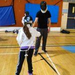 17. Loup-Yann, instructeur, a l'occasion de combattre avec Kelly-Anne.