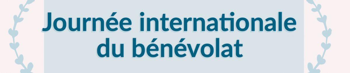 Bandeau - Logo ASAQ. 5 décembre 2018 - Journée internationale du bénévolat.