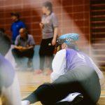 TIGM2019-Vue d'un joueur des Crown au sol et de dos.
