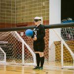 TIGM2019-La joueuse numéro 3 de l'Ontario tient le ballon.