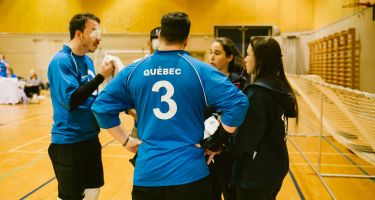 TIGM2019-Rencontre de l'équipe du Québec et des deux entraîneuses.