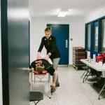 TIGM2019-La physiothérapeute donne un massage.