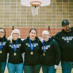 Médaille d'or - Femmes: Équipe All Blacks (Ontario)