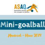 Bandeau Programme jeunesse ASAQ H-2019 - Mini-goalball