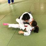 Du sport pour moi! Montréal - Judo. Alexandra et Rym en combat.