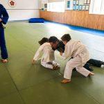 Du sport pour moi! Montréal - Judo. Papa, Edgar et Sofia en combat.