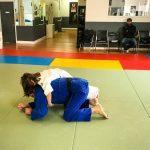 Du sport pour moi! Montréal - Judo. Sofia et Vincent en combat.