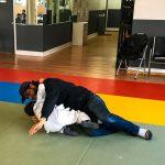 Du sport pour moi! Montréal - Judo. Yacine et son père en combat.