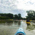 DSPM-Montréal-Automne 2019-Mayak. L'ensemble du groupe sur la rivière en cette belle journée.