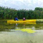 DSPM-Montréal-Automne 2019-Mayak. Mohamed et son papa en kayak.
